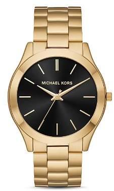 Michael Kors Slim Runway Watch, 44mm x 49mm