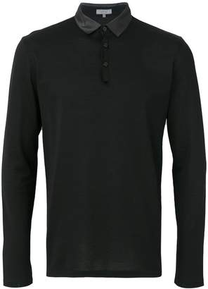 Lanvin polished polo shirt