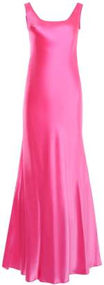 Alberta Ferretti Fluo Satin Dress