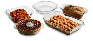 Libbey Baker's Premium 5-piece Glass Serving Dish Set