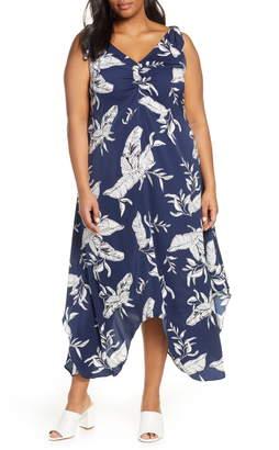 The Endless Summer Estelle Leaf Print Dress