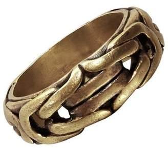 Braid Brass Ring