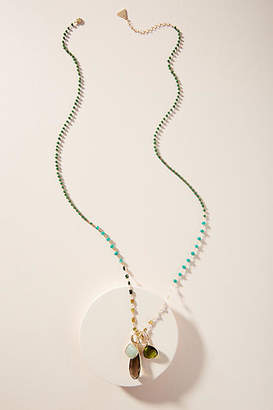 Anthropologie Clustered Pendant Necklace