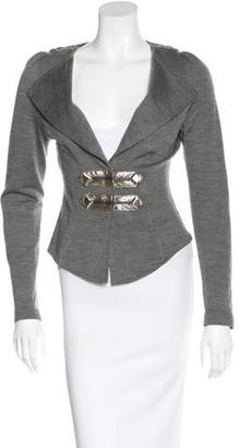 Alice by Temperley Embellished Wool Blazer $145 thestylecure.com