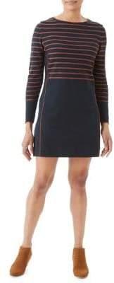 Olsen Nordic Mood Striped Knit Dress