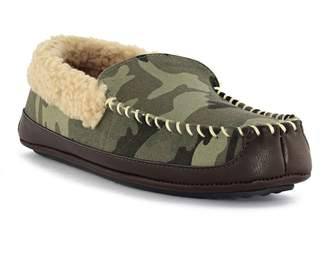 Dockers Loxley Venetian Slippers with Faux Fur Trim
