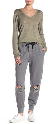 Threads 4 Thought Loops Distressed Joggers