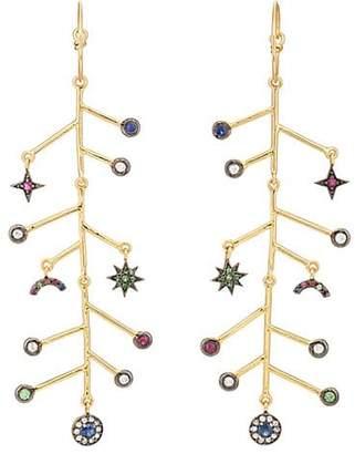 Eye M Women's Weather Branch Earrings - Gold