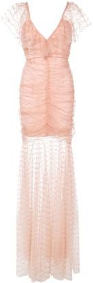 Alice McCall layered evening dress