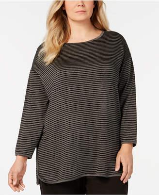 d60d87aee6e Eileen Fisher Black Plus Size Tops - ShopStyle Australia