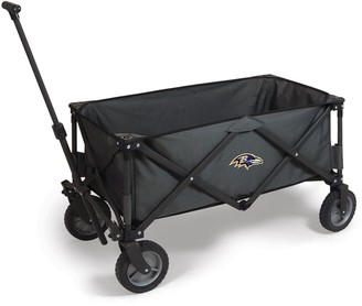 Picnic Time Baltimore Ravens Adventure Folding Utility Wagon