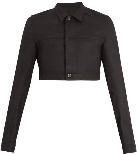 Little Joe cropped-length jacket