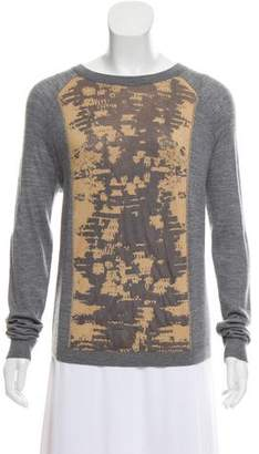 Reed Krakoff Cashmere-Blend Long Sleeve Sweater
