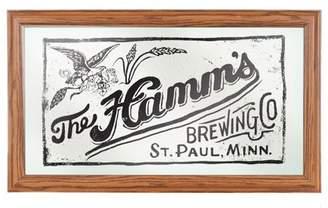 ADG Hamm's Framed Logo Mirror - Crate Stamp