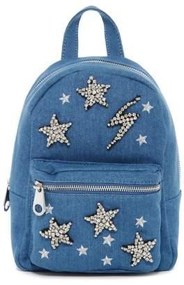 Studio 33 Denim Star Mini Backpack
