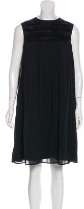 Burberry Silk Sleeveless Dress