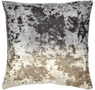 Aviva Stanoff Design Ombre Crushed Velvet Accent Pillow