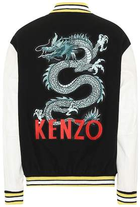 Kenzo Embroidered varsity jacket