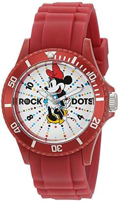 Disney Minnie Mouse Women's Plastic Watch