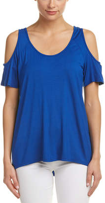 KUT from the Kloth Cold-Shoulder Top