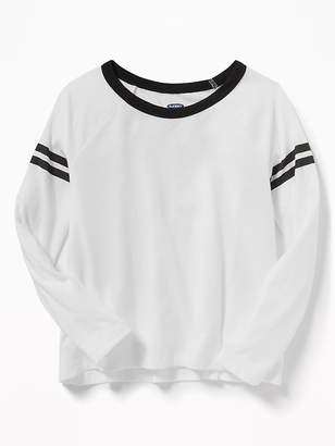 Old Navy Softest Graphic Raglan-Sleeve Tee for Girls