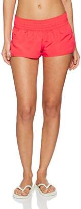 Skiny Women's Summer Loungewear Shorts Swim (Flashy red)