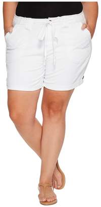 Jag Jeans Plus Size Adeline Twill Shorts Women's Shorts