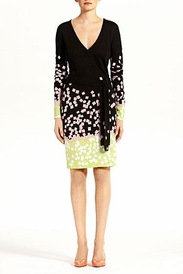 Diane von Furstenberg Richley Short Dress In Falling Squares #2