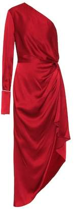 Monse One-shouldered satin dress