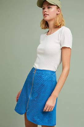 TheKorner Retro Lace Mini Skirt