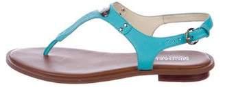 MICHAEL Michael Kors Leather Embellished Sandals