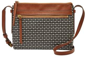 Fossil Felicity Crossbody Handbag Black/White