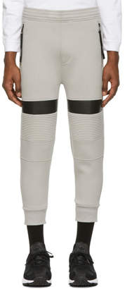 Neil Barrett Grey Biker Lounge Pants
