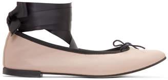 Repetto Pink Anna Ballerina Flats