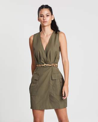 Missguided Sleeveless Utility Dress