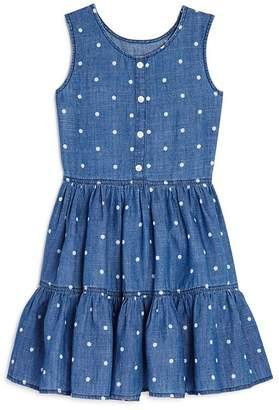 Rails Girls' Katie Polka-Dot Chambray Dress - Little Kid, Big Kid