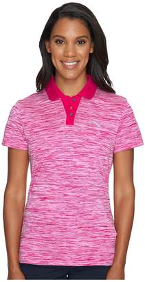 Puma Tuck Stitch Polo Women's Short Sleeve Pullover
