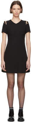 Versus Black Safety Pin Mini Dress