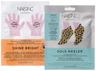 Nails Inc Shine Bright And Sole Healer Hands & Feet Duo