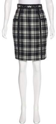Adam Wool Tartan Skirt