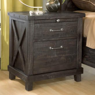 Laurèl Foundry Modern Farmhouse Langsa 2 Drawer Nightstand