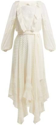 Zimmermann Hanky silk midi dress