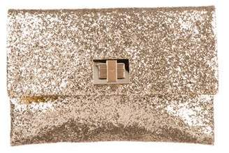 7e67ea073b Pre-Owned at TheRealReal · Anya Hindmarch Valorie Glitter Clutch