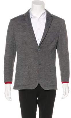 Dirk Bikkembergs Wool-Blend Knit Sport Coat