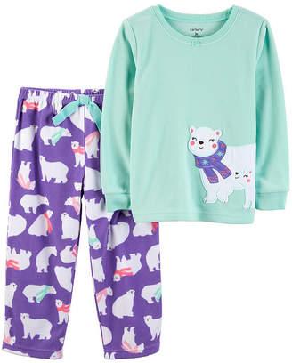 Carter's 2-pc. Pant Pajama Set - Toddler Girls