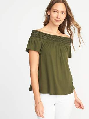 Old Navy Relaxed Off-the-Shoulder Top for Women