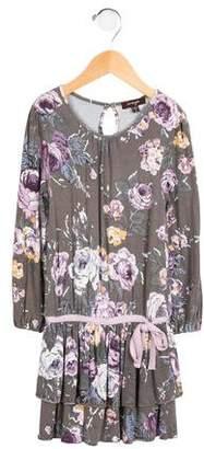 Imoga Girls' Phoebe Floral Print Dress