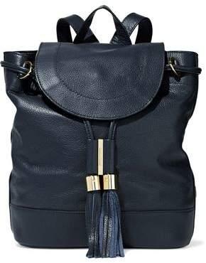 See by Chloe Vicki Pebbled-Leather Backpack