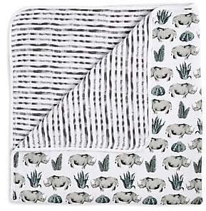 Aden Anais aden + anais aden + anais Dream Serengeti Cotton Blanket