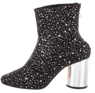 Maison Margiela Round-Toe Ankle Boots w/ Tags